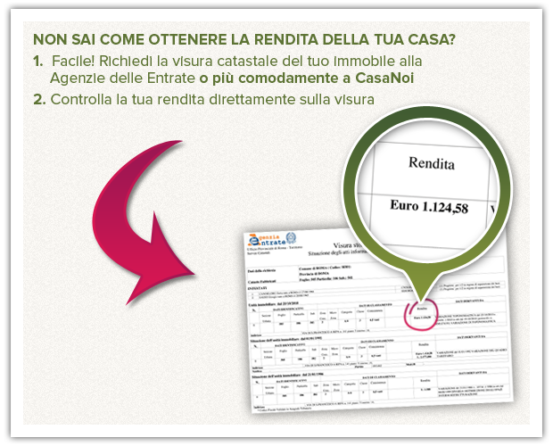 Rendita catastale come si calcola e a cosa serve casanoi - Visura catastale per nominativo ...