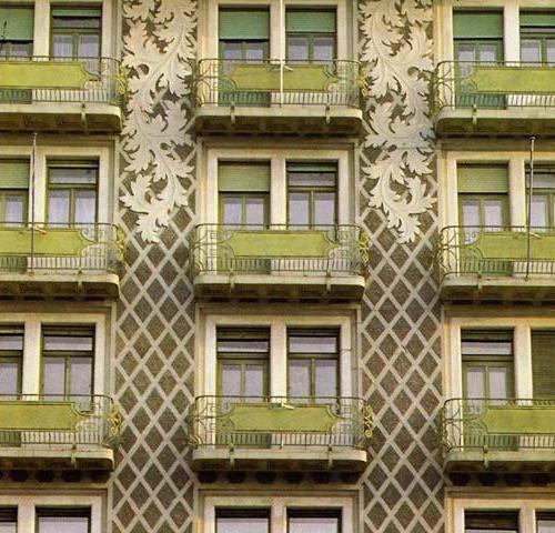 Stili architettonici il liberty casanoi blog for Architettura di casa online