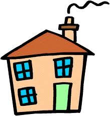 diritto di abitazione: disegno di una casa