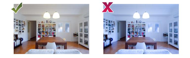 Come fare foto di qualità alla casa per un annuncio di successo