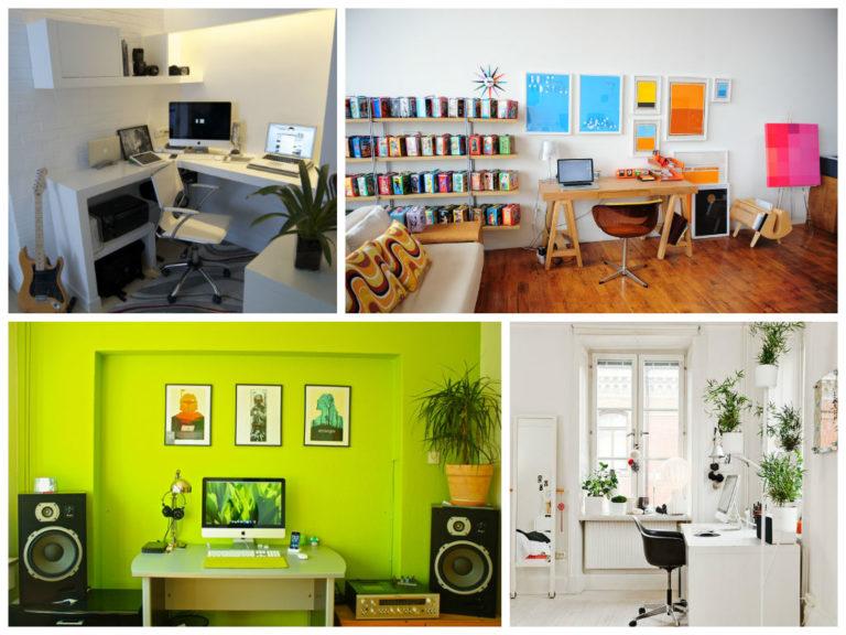 Idee per arredare l 39 ufficio il design secondo wegner - Arredare ufficio in casa ...