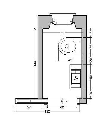 Progetto bagno piccolo quadrato riparazioni appartamento - Bagno piccolissimo in camera ...