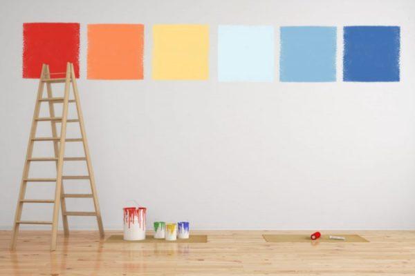 come calcola la quantità di pittura per imbiancare casa