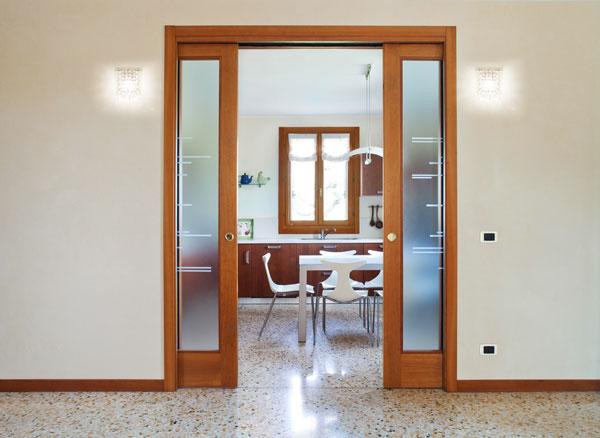 Porte scorrevoli a scomparsa e esterno muro casanoi blog - Offerte porte da interno ...