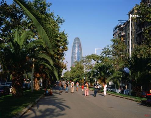 Torre Agbar di Torre Agbar di Jean Nouvel a Barcellona