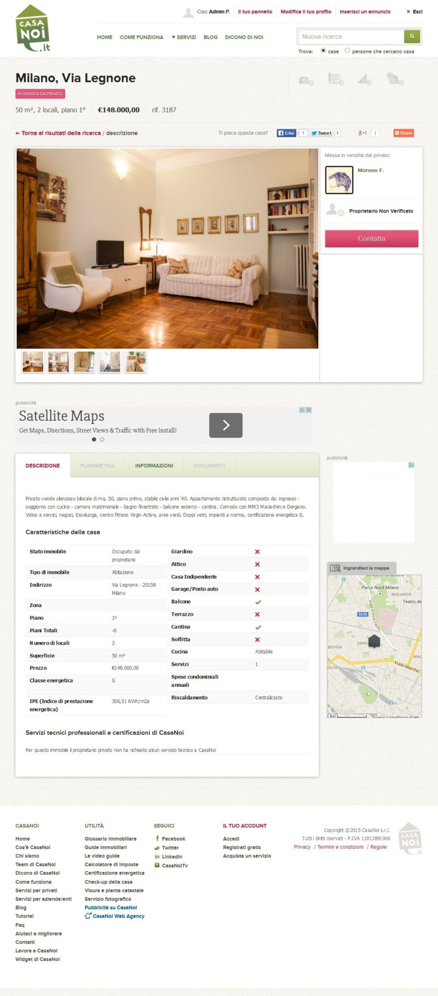 Vendere casa con il mutuo in essere casanoi blog for Mutuo con arredamento