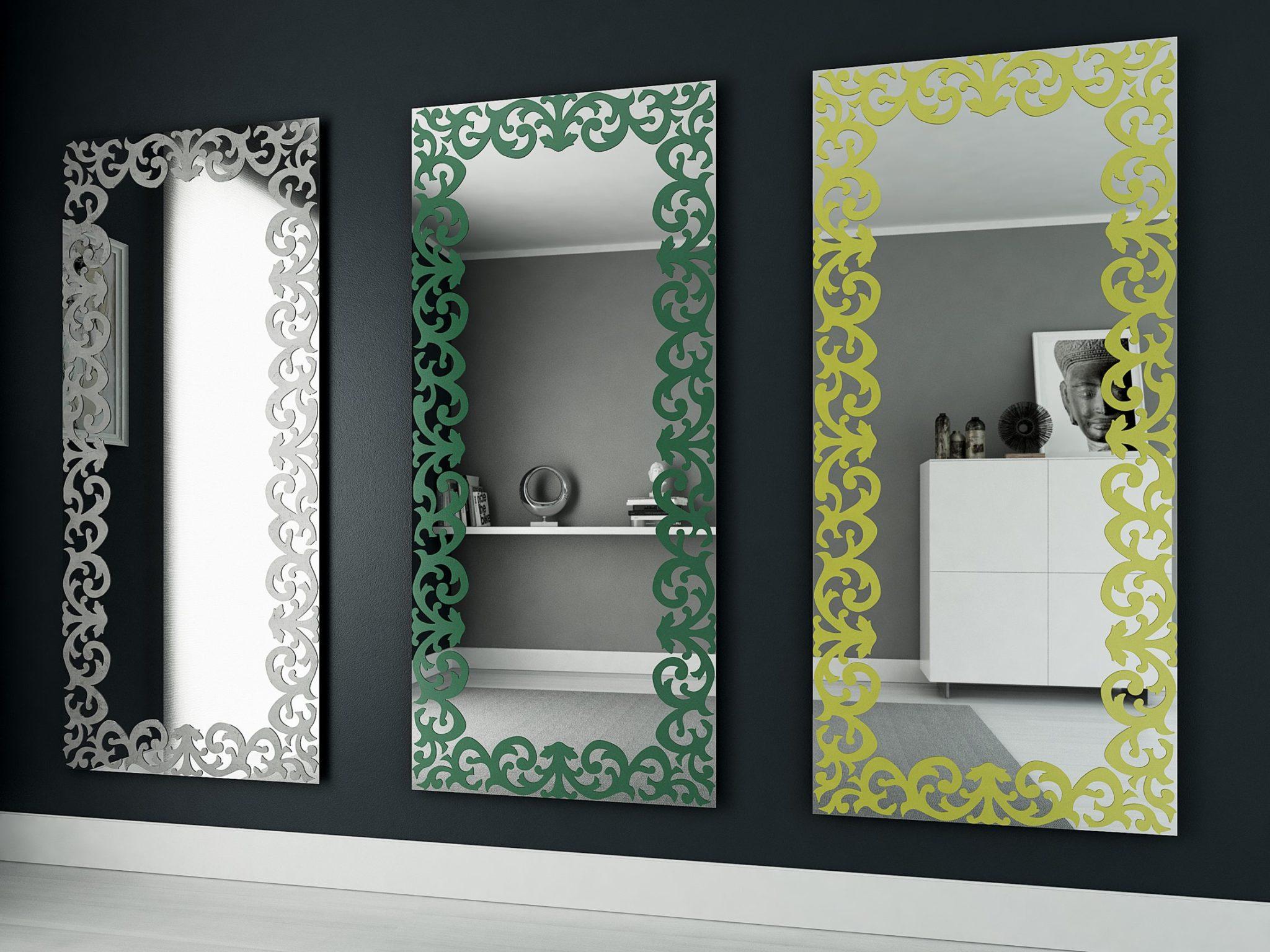 Come arredare casa con gli specchi for Cornici grandi dimensioni