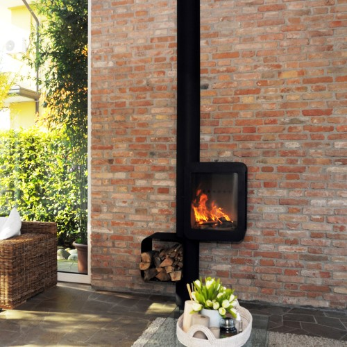 stufe a legna moderne per arredare casa casanoi blog. Black Bedroom Furniture Sets. Home Design Ideas