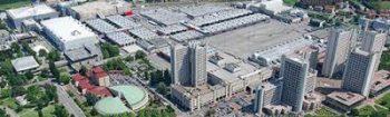Bologna quartiere Fiere di leonardo Benevolo