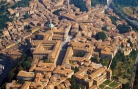 Urbino, vista aerea