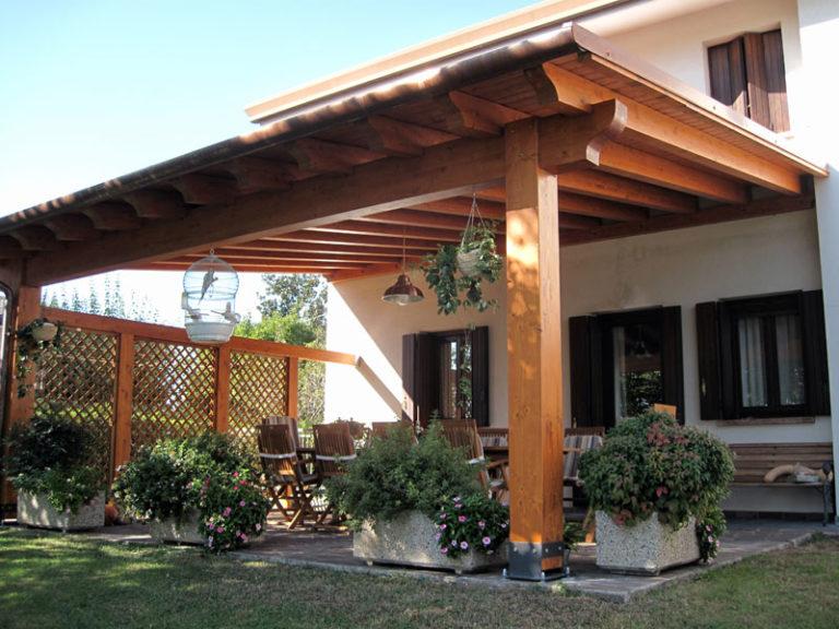 Quali permessi per realizzare tettoie casanoi blog for Permessi per case in legno