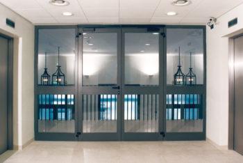 Porte tagliafuoco in vetro Officine Brevetti Sisti