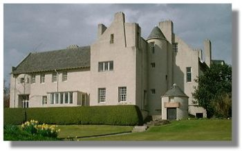 Hill House di Mackintosh Art Nouveau