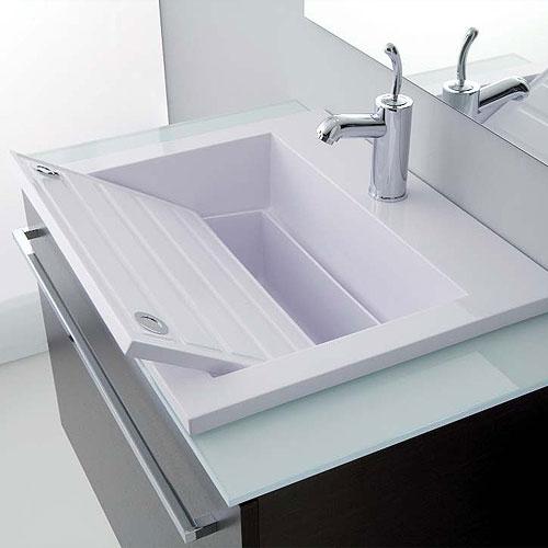 Lavello Ceramica Per Lavanderia.Lavabo E Lavatoio Una Soluzione Salvaspazio Casanoi Blog