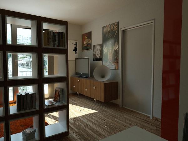 Libreria come sceglierla - Libreria parete divisoria ...