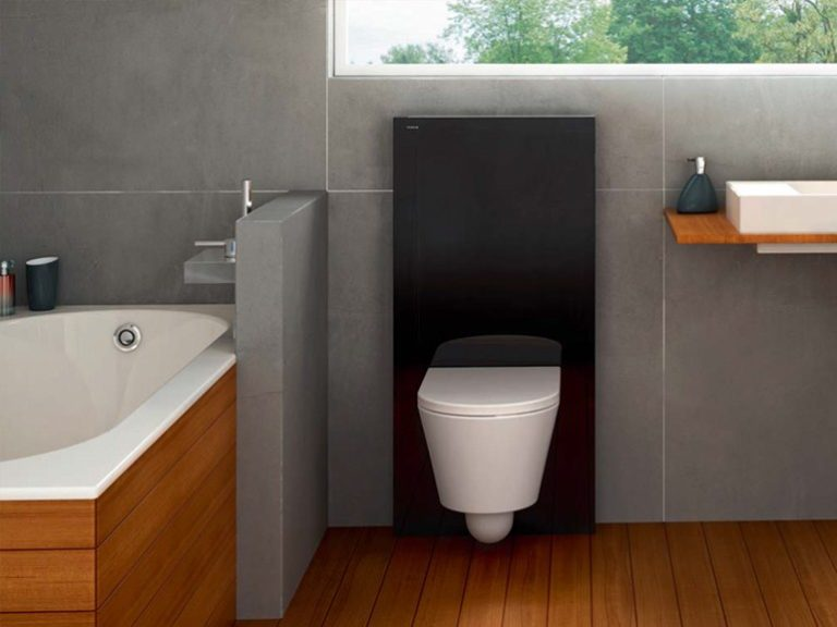 installazione wc i moduli sanitari oli e geberit. Black Bedroom Furniture Sets. Home Design Ideas