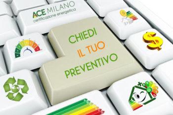 APE certificazione energetica Milano Monza sopralluogo richiesta preventivo