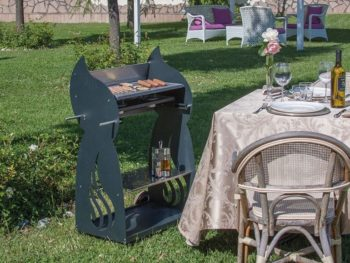 barbecue e cucine per esterni barbecue al bioetanolo Chef 3