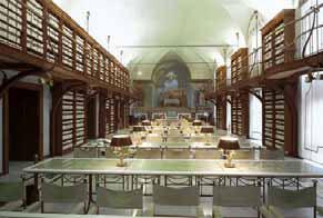 Patrimonio culturale in classe A: foto della sala lettura di Palazzo S.Macuto, sede della Biblioteca della Camera dei Deputati