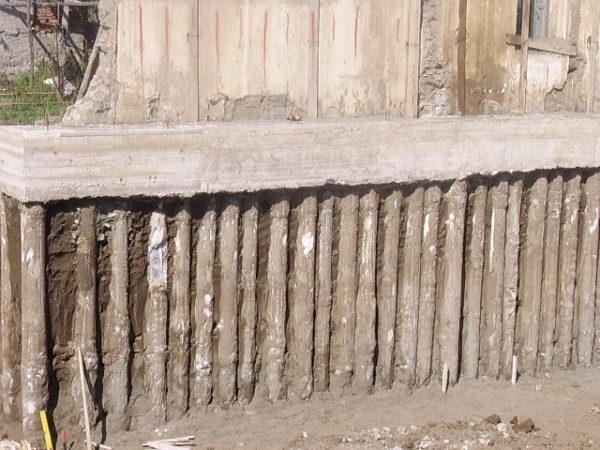 micropali per fondazioni un esempio in cantiere