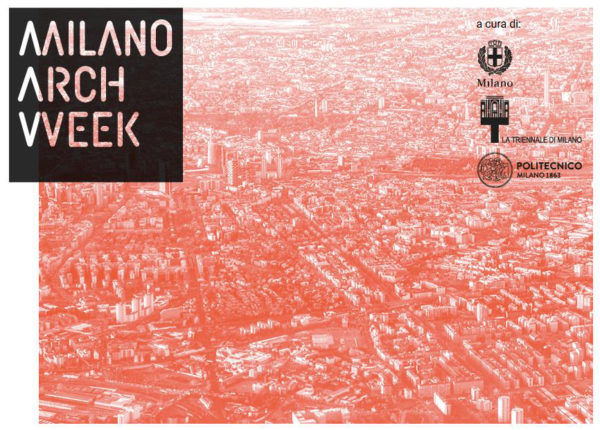 manifesto della Milano Arch Week