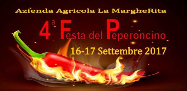 manifesto della quarta festa del peperoncino