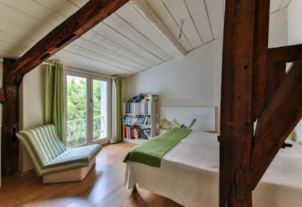 ricavare una stanza in più : la mansarda camera da letto
