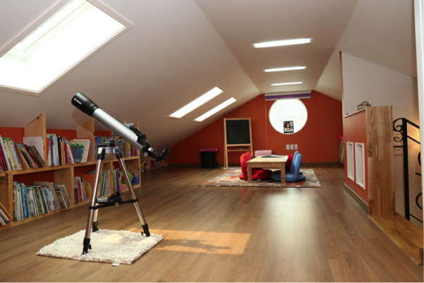 creare una stanza in più :mansarda