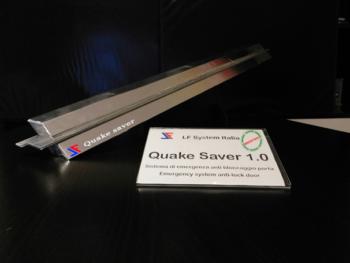 sistema Quake Server per porta antisismica