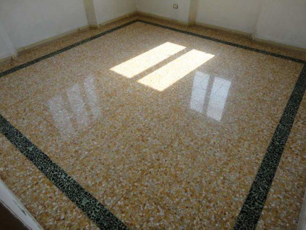 come recuperare un vecchio pavimento in graniglia