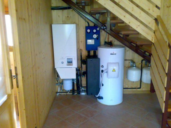 gestione impianto riscaldamento impianto termico una pompa di calore