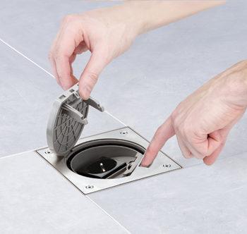 Punti di presa elettrica a pavimento casanoi blog for Aprire il pavimento