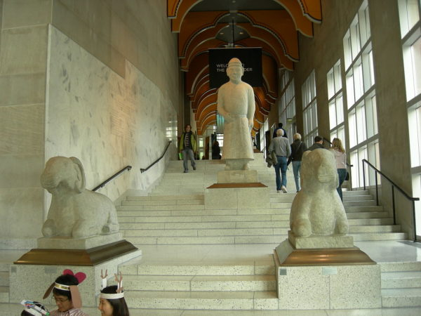 architetto Robert Venturi: foto scalinata Seattle Art Museum