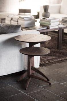 anteprime salone del mobile di milano 2019: tavolini Pleilu di Del Fabbro