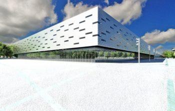 Pritzker 2019 Arata Isozaki, architetto giapponese. Foto del Palahockey di Torino