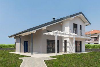 case in legno non pericolo di incendio FOTO: Casa in legno Novello