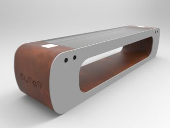 panchine di design per arredo urbano Elios Smart Bench