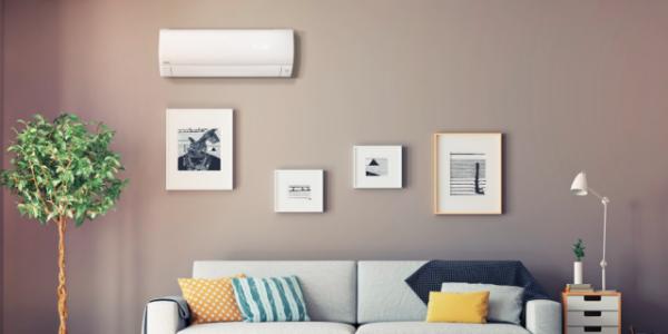 climatizzatori o condizionatori in soggiorno