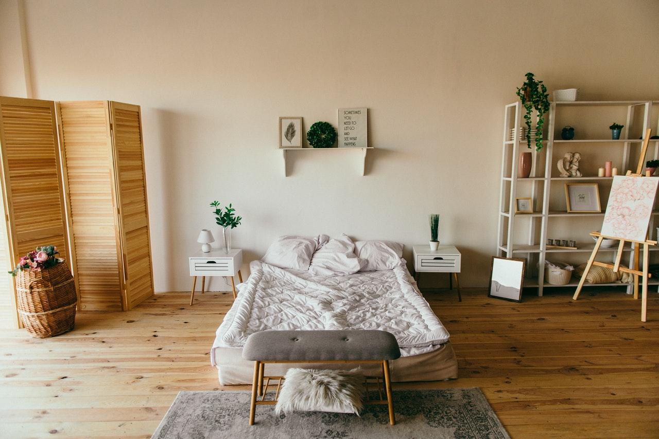 camera da letto di casa vacanze